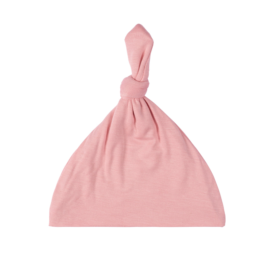Knotted Hat - Baby Pink