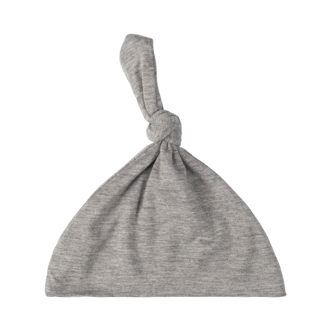 Knotted Hat - Gray