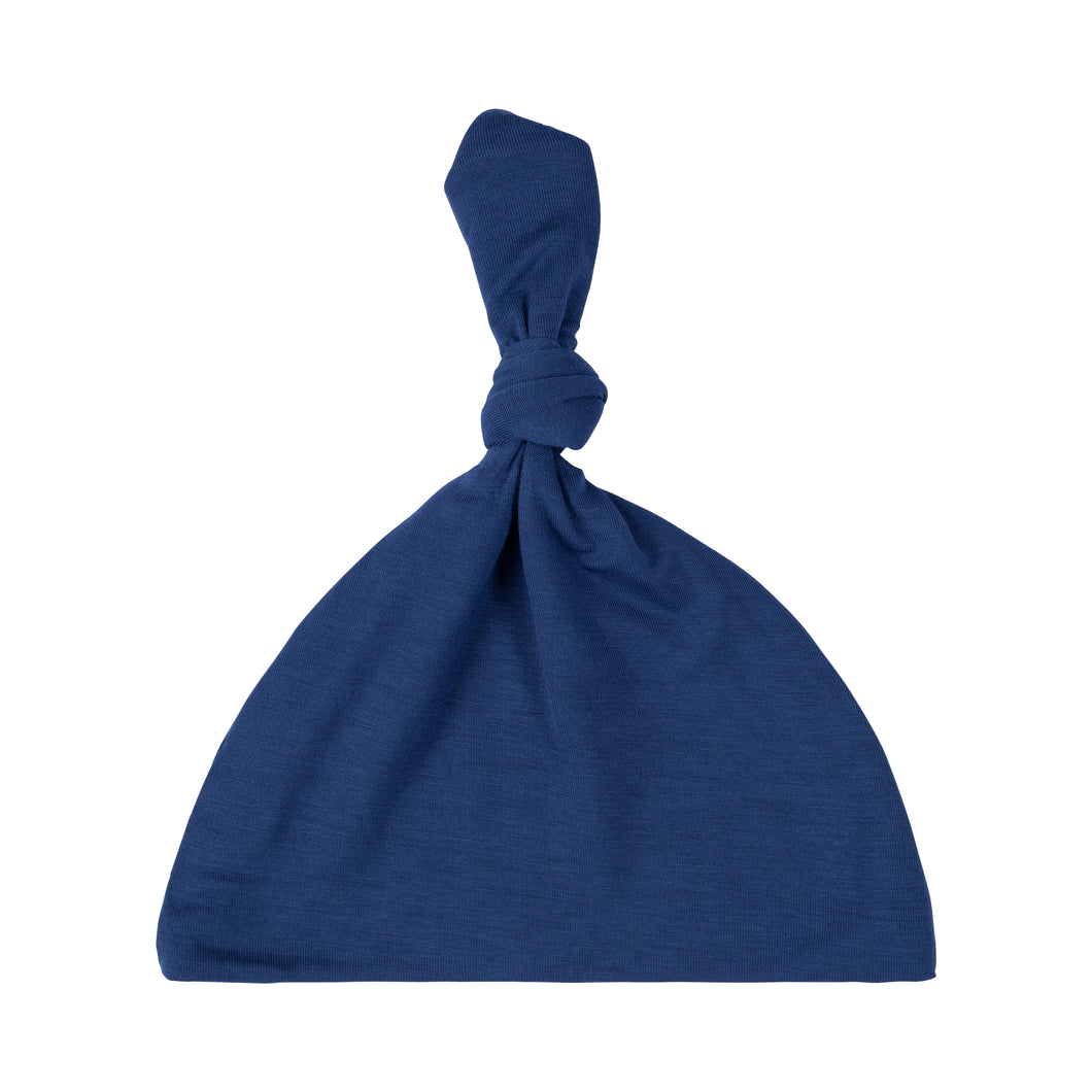 Knotted Hat - Indigo