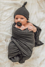 Load image into Gallery viewer, Newborn Swaddle Set - Heather Gray