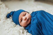 Load image into Gallery viewer, Newborn Swaddle Set - Indigo