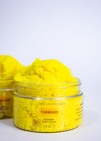 TURMERIC FOAMING BODY POLISH
