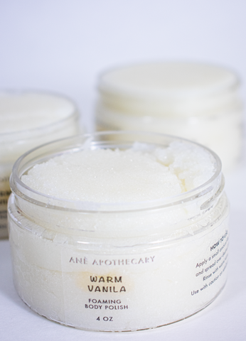 WARM VANILLA FOAMING BODY POLISH