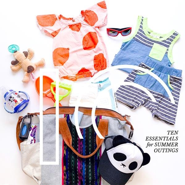 10 THINGS YOU NEED FOR A SUMMER OUTING WITH KIDS
