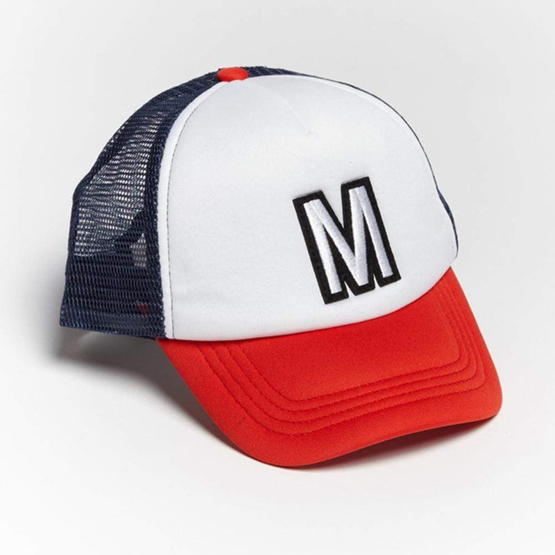 Boys M Patch Trucker Hat