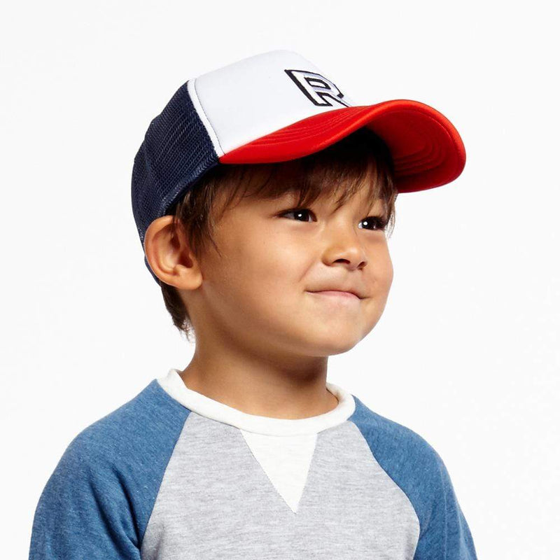 Boys R Patch Trucker Hat
