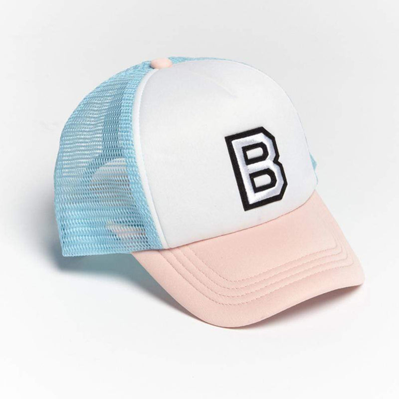 Girls B Patch Trucker Hat