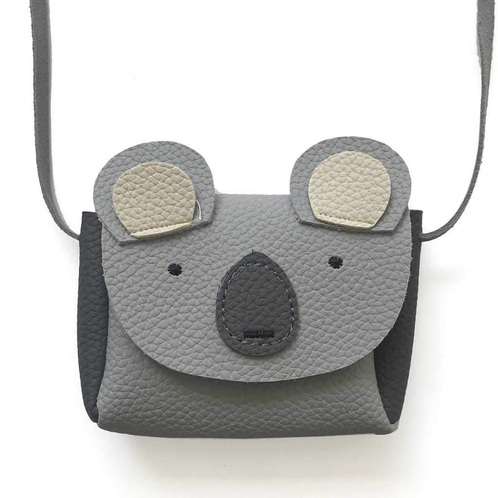 Mini Grey Koala Purse