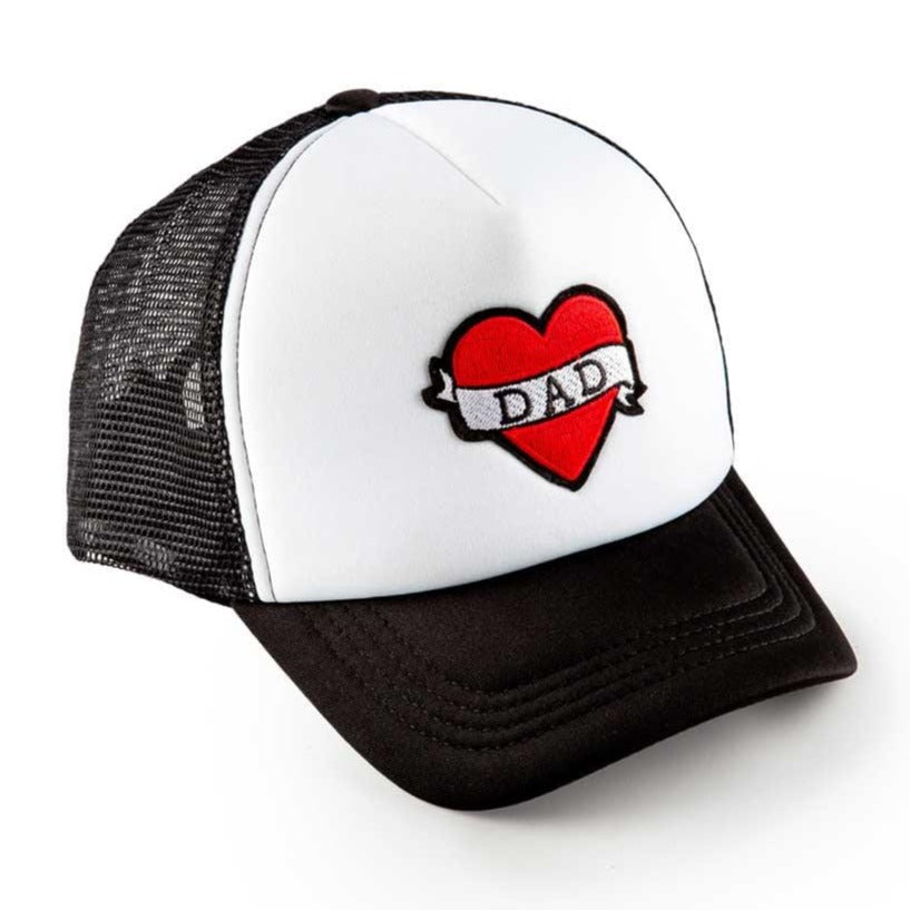 Accessories MISC / Infant Black I Love Dad Patch Trucker Hat