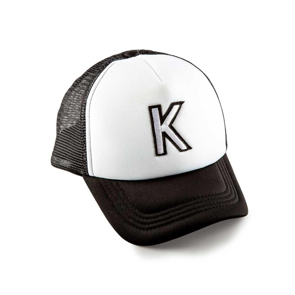 Accessories MISC / Infant Black K Patch Trucker Hat