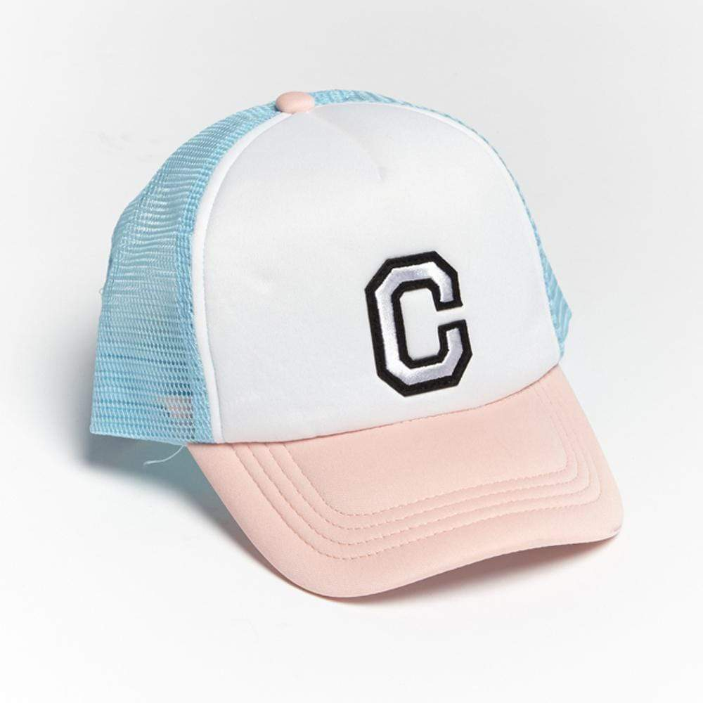 Girls C Patch Trucker Hat