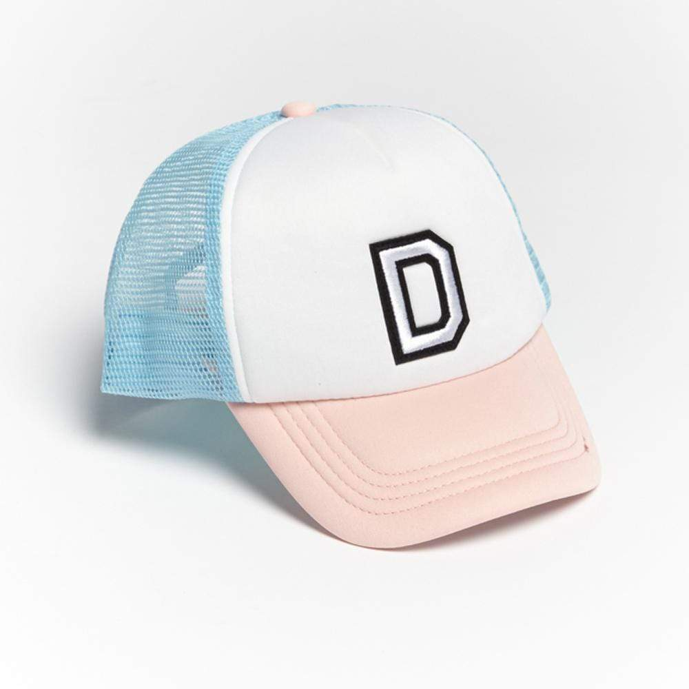 Girls D Patch Trucker Hat