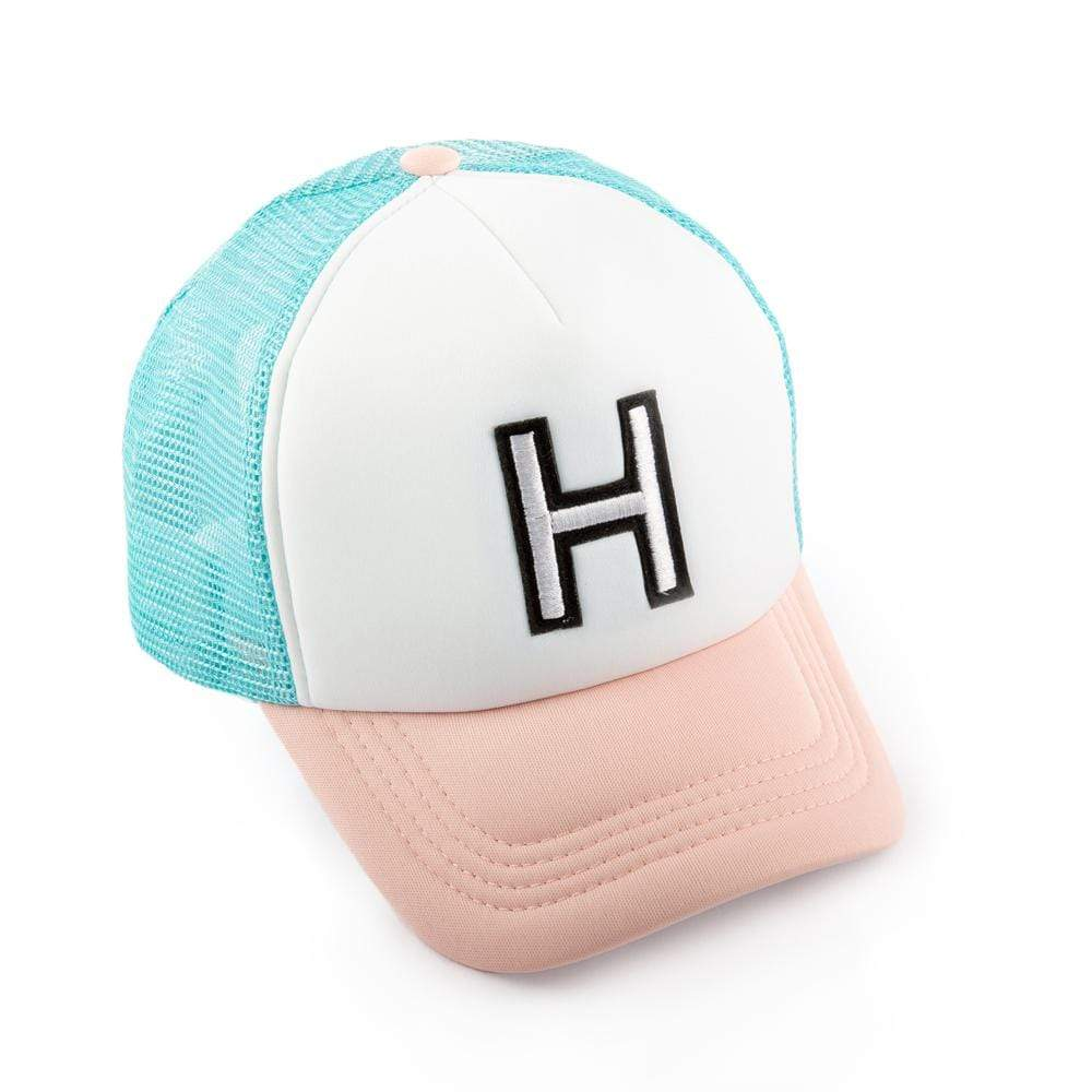 Girls H Patch Trucker Hat