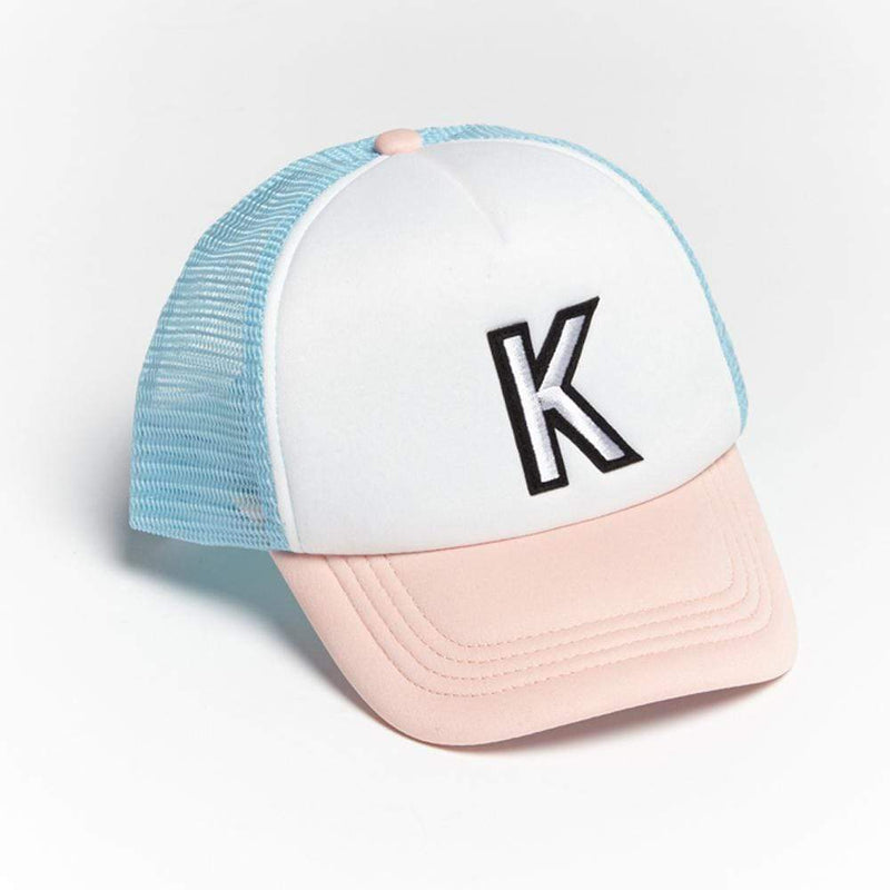 Girls K Patch Trucker Hat