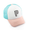 Girls P Patch Trucker Hat