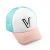 Girls V Patch Trucker Hat