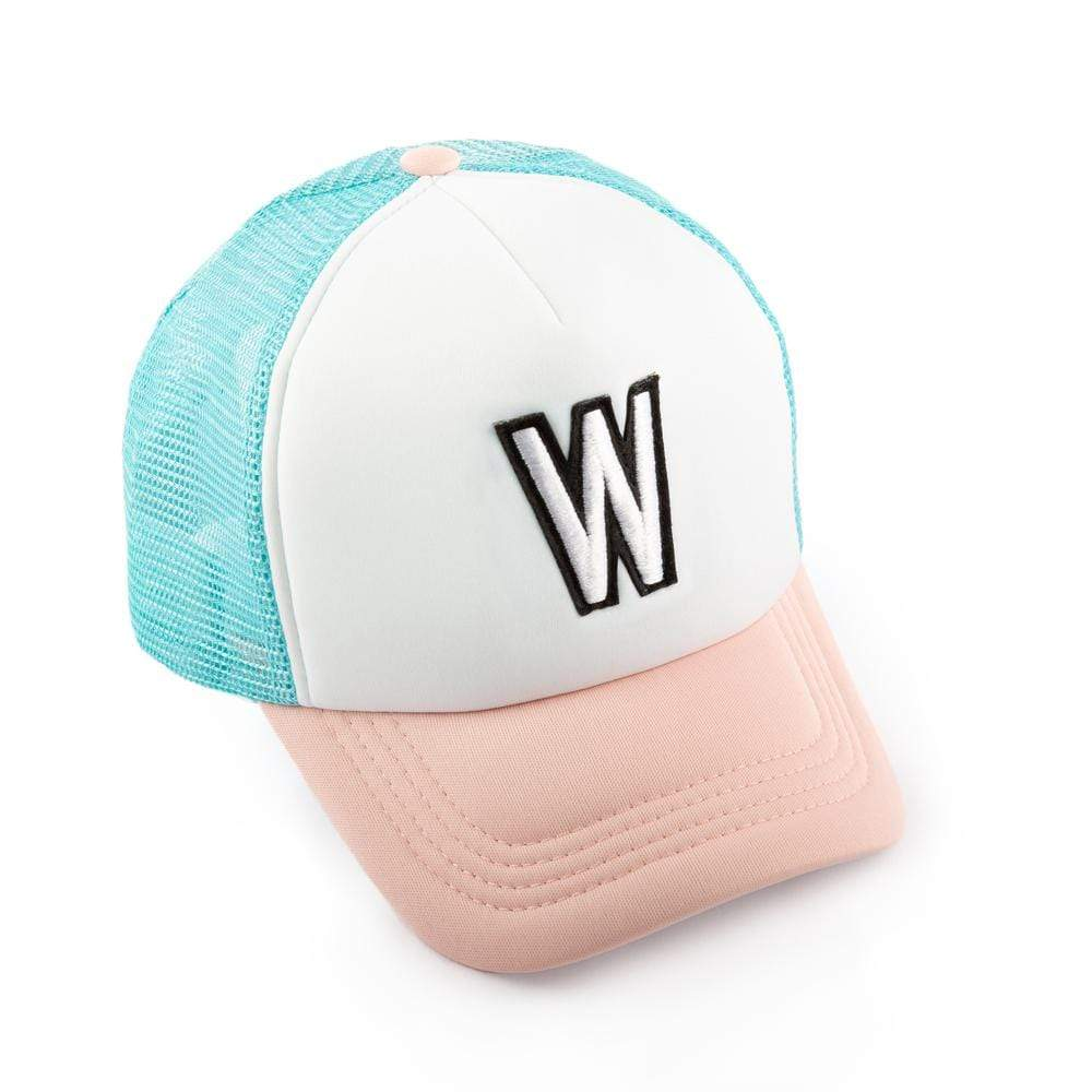 Girls W Patch Trucker Hat
