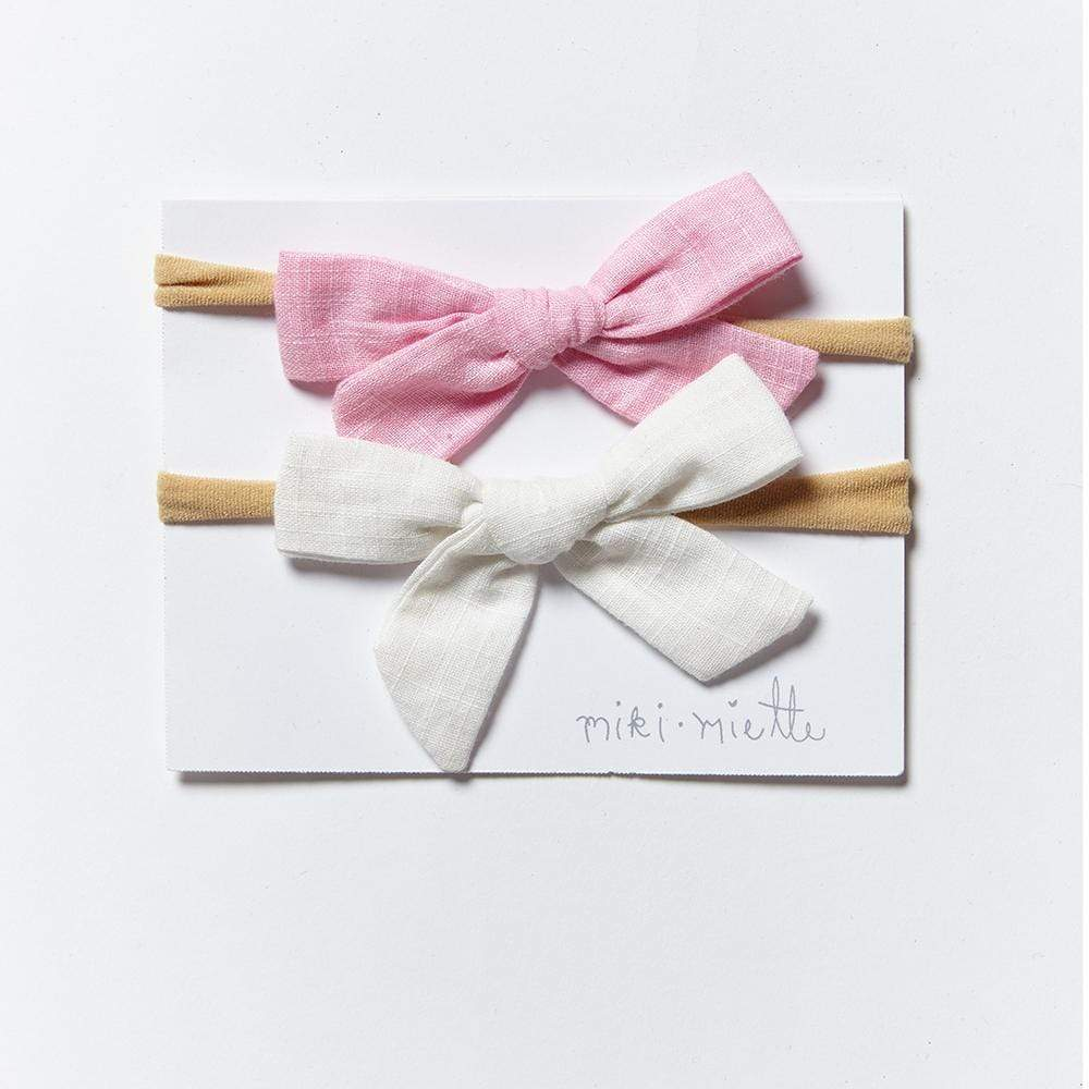 Accessories MISC / OS 2pc Bow Headband Set Cupcake