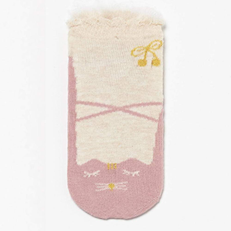 Cat Ballet Slipper Socks