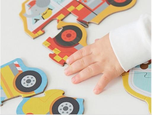 Accessories MULTI / OS Beginner Puzzle - Rescue Vehicles