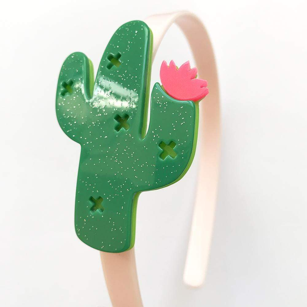 Accessories MULTI / OS Cactus Headband Dark Green