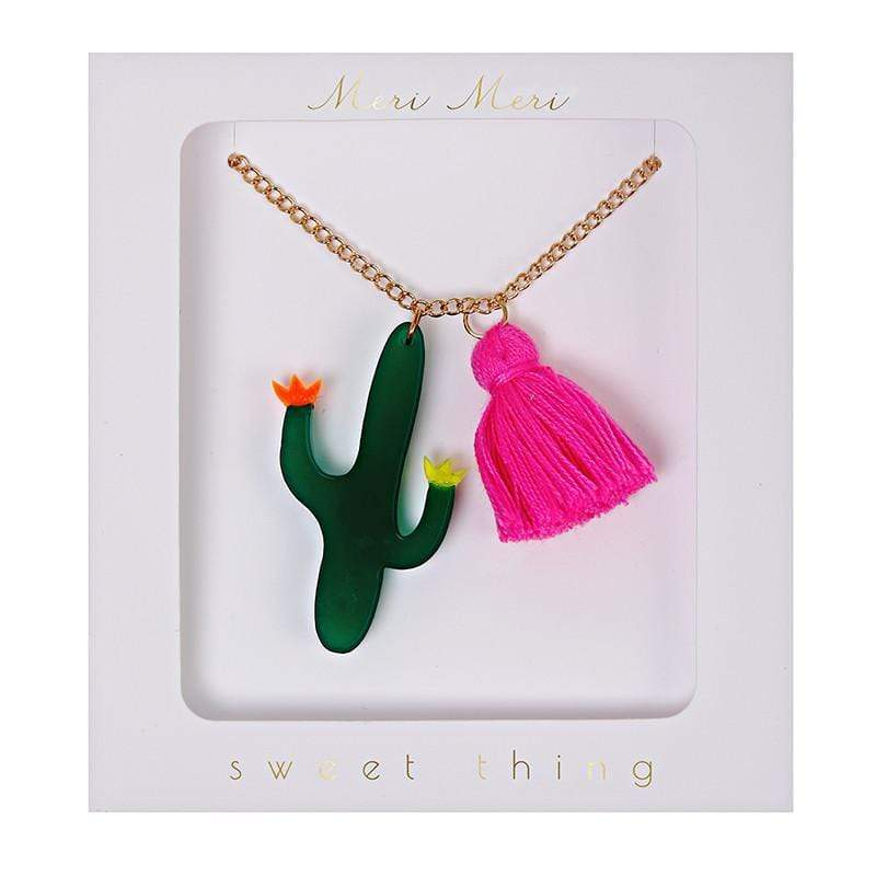 Accessories MULTI / OS Cactus Necklace