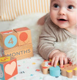Accessories MULTI / OS Collage Wooden Baby Milestone Blocks