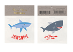 Jawsome Temporary Tattoos