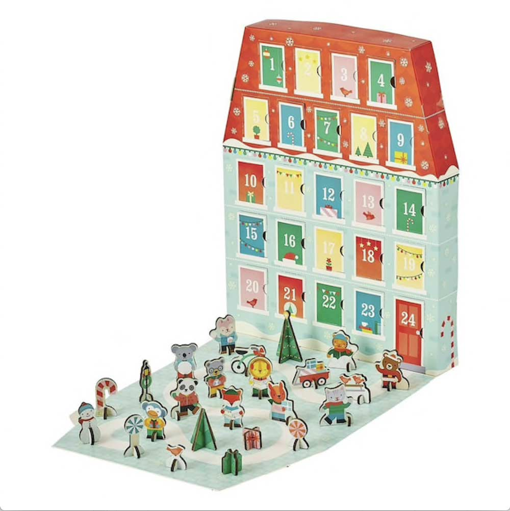 Accessories MULTI / OS Merry Christmas Pop-Out Advent Calendar