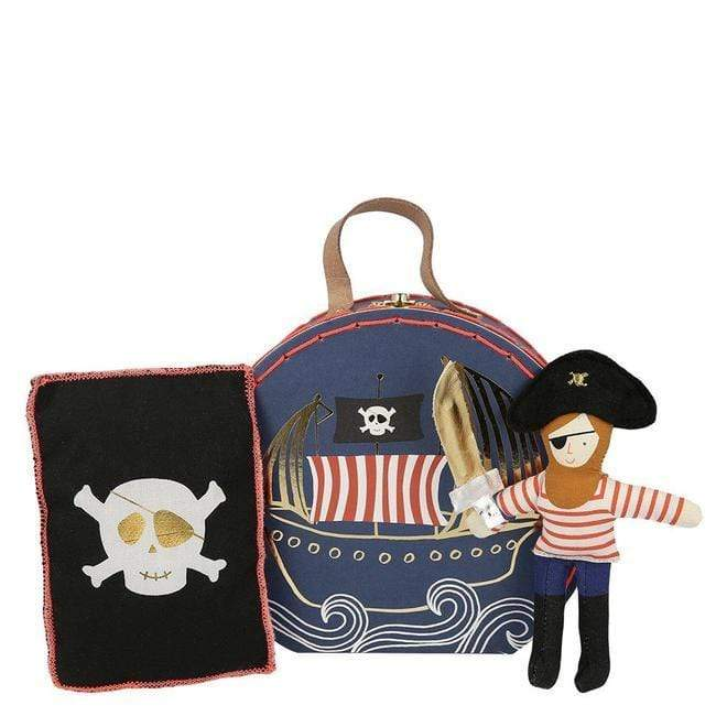 Pirate Mini Suitcase Doll