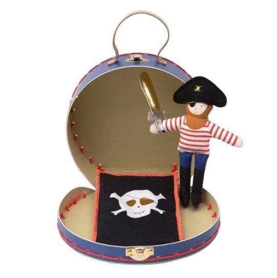 Accessories MULTI / OS Pirate Mini Suitcase Doll