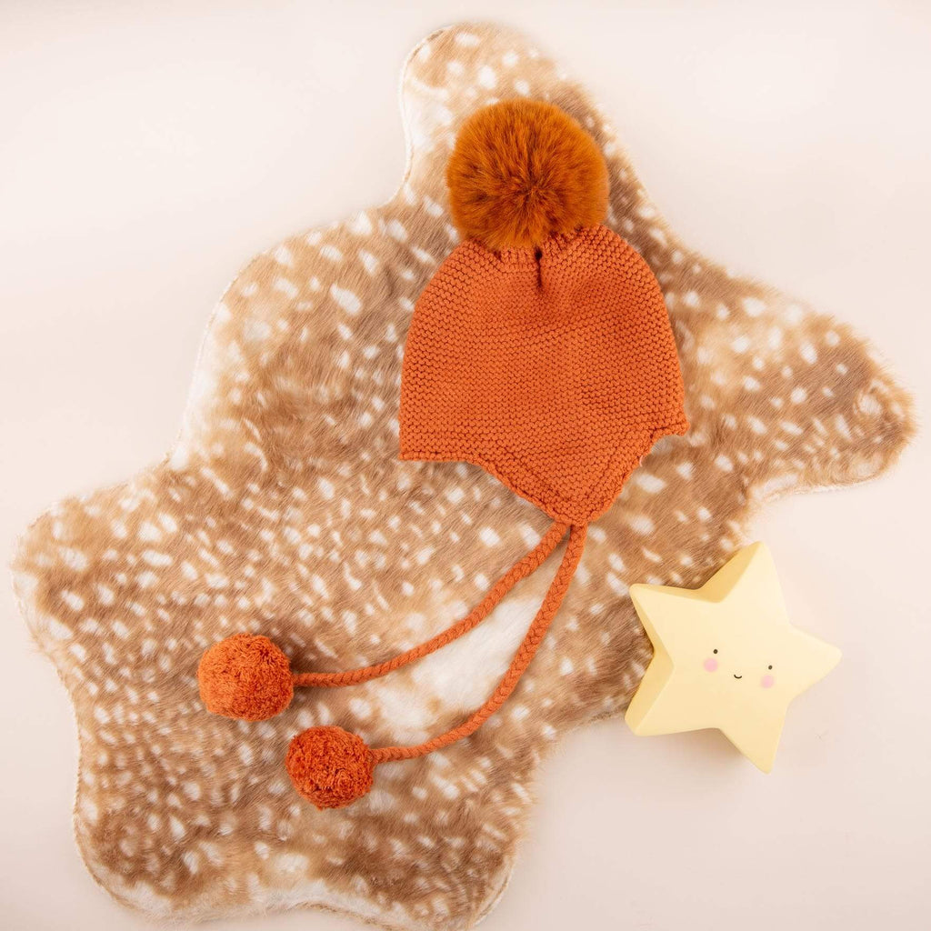 Accessories MULTI / OS Riding Hood Pom Pom Hat Pumpkin
