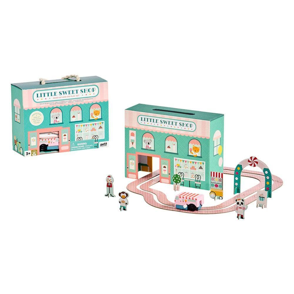 Wind Up and Go Playset - Little Sweet Shop