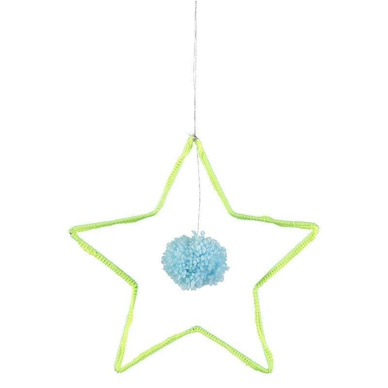 Accessories MULTI / OS Wire and Wool Star Decoration