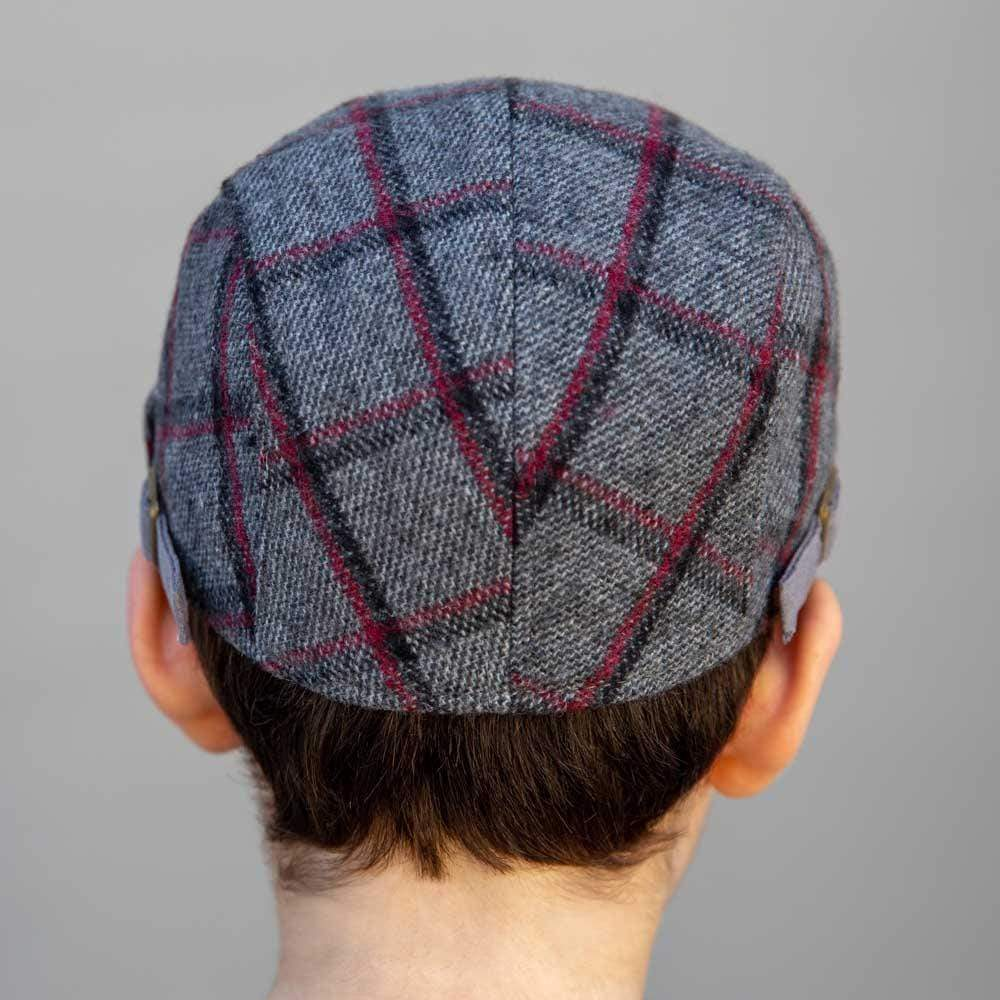 Accessories Newspaperboy Hat Grey