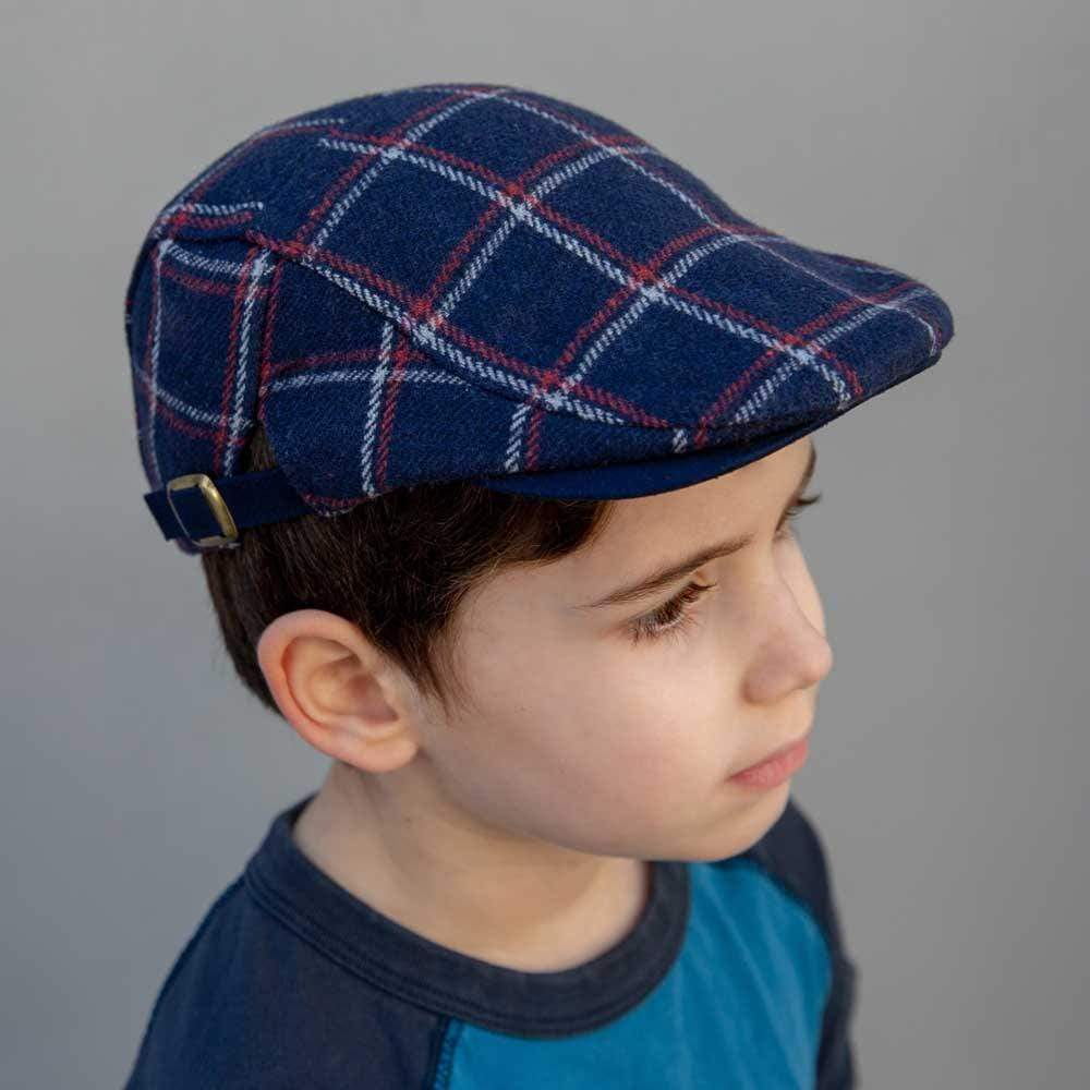 Accessories Newspaperboy Hat Navy