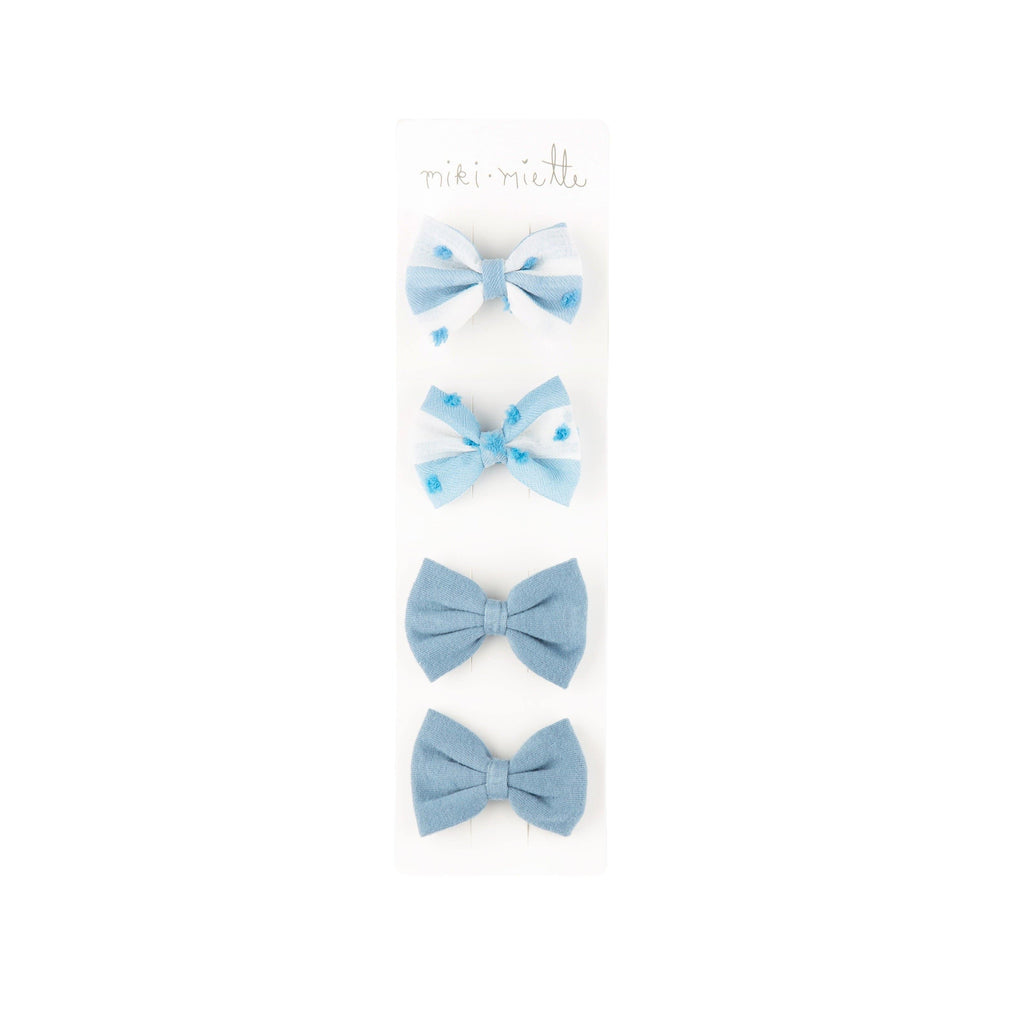 Accessories ST LUCIA BLUE / OS 4 Pc Bow Set St Lucia Blue