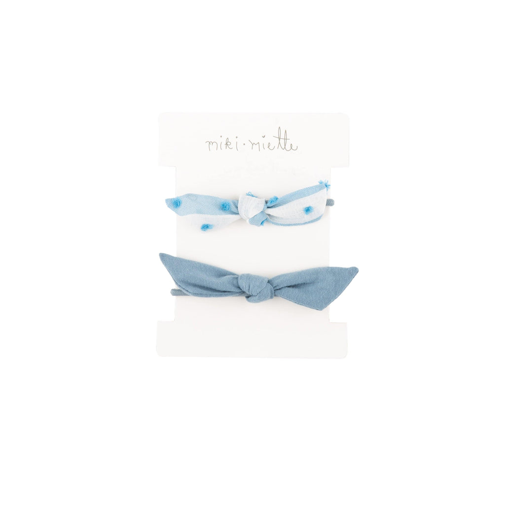Accessories ST LUCIA / OS 2 Pc Hair Tie Set St Lucia Blue