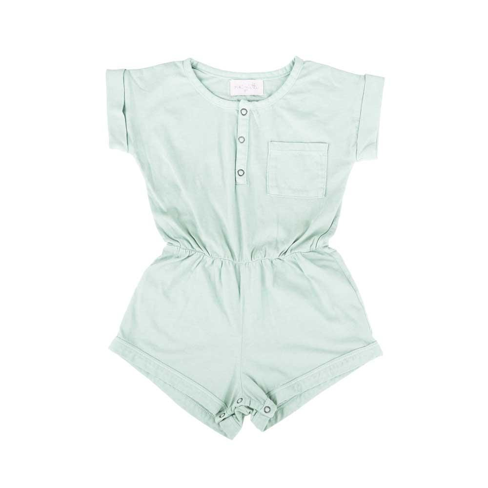 Basics Judy Short Romper Antigua Blue