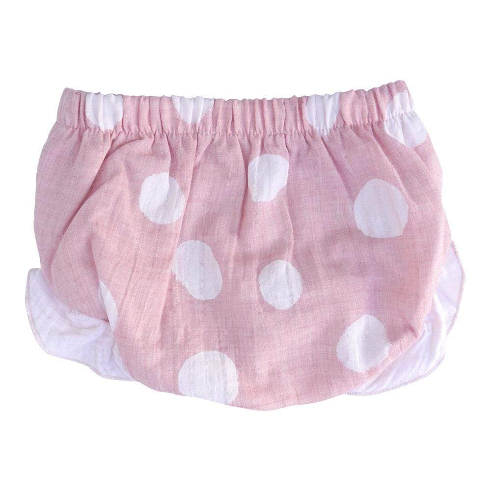 Layette Bloomer Rosewater Dot