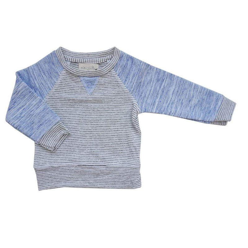 Iggy Pullover Layette Fog