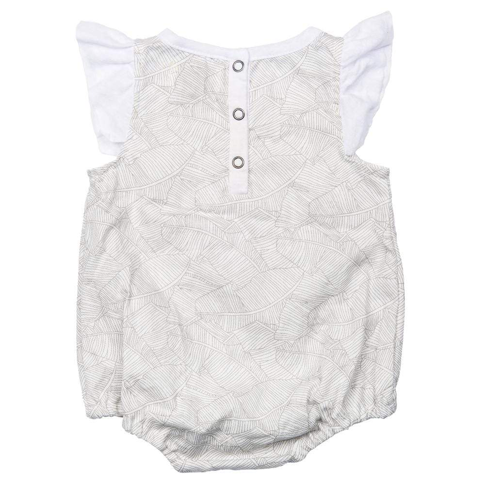 Isidora Bubble Romper Grey Palm