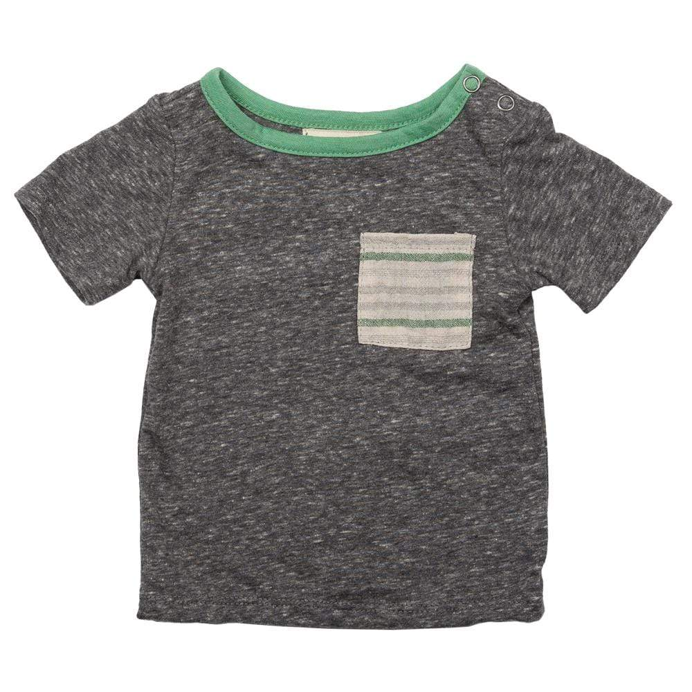 Layette Pocket Tee Baja