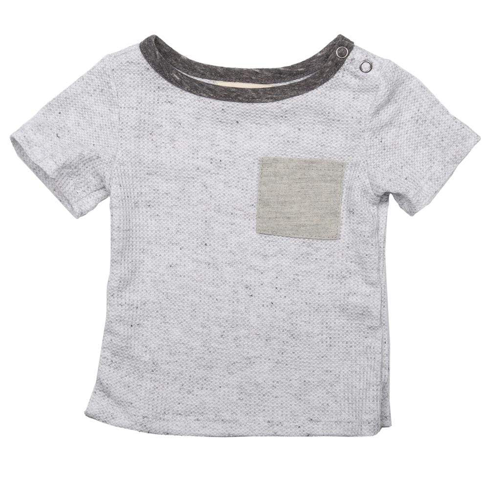 Layette Pocket Tee Cloud