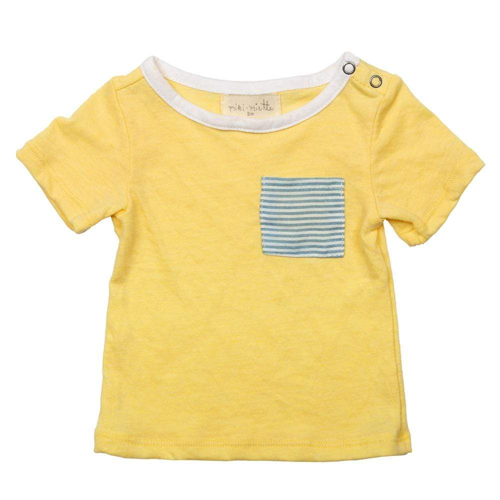 Layette Pocket Tee Riviera