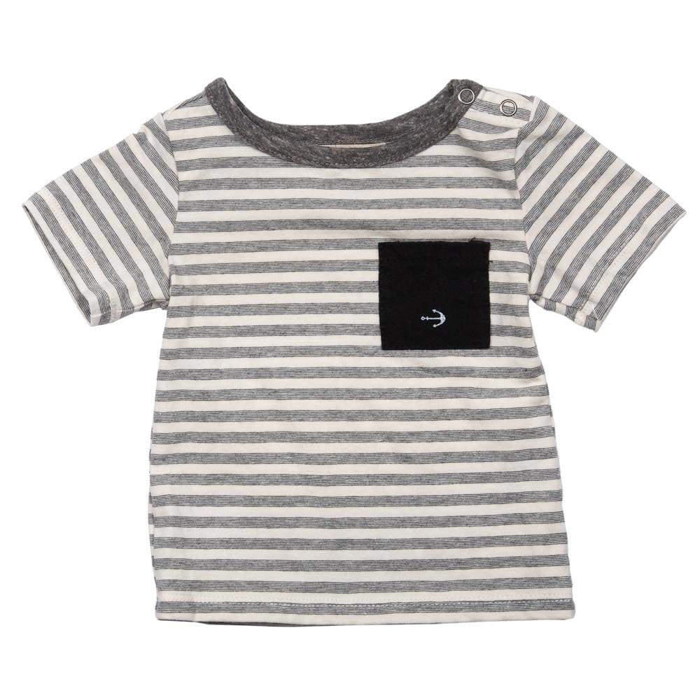 Layette Pocket Tee Sailor