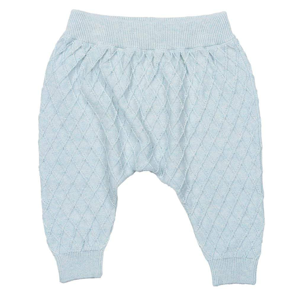 Layette Sweater Knit City Jogger Aqua