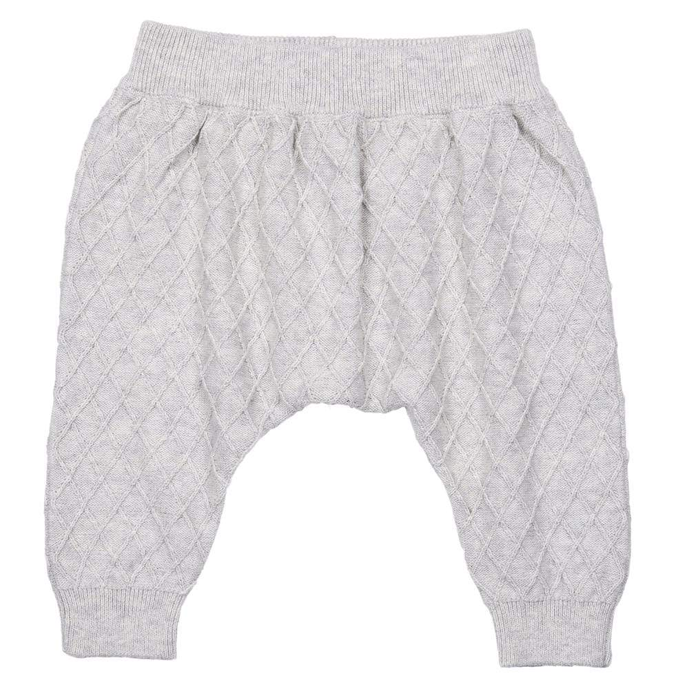Layette Sweater Knit City Jogger Grey