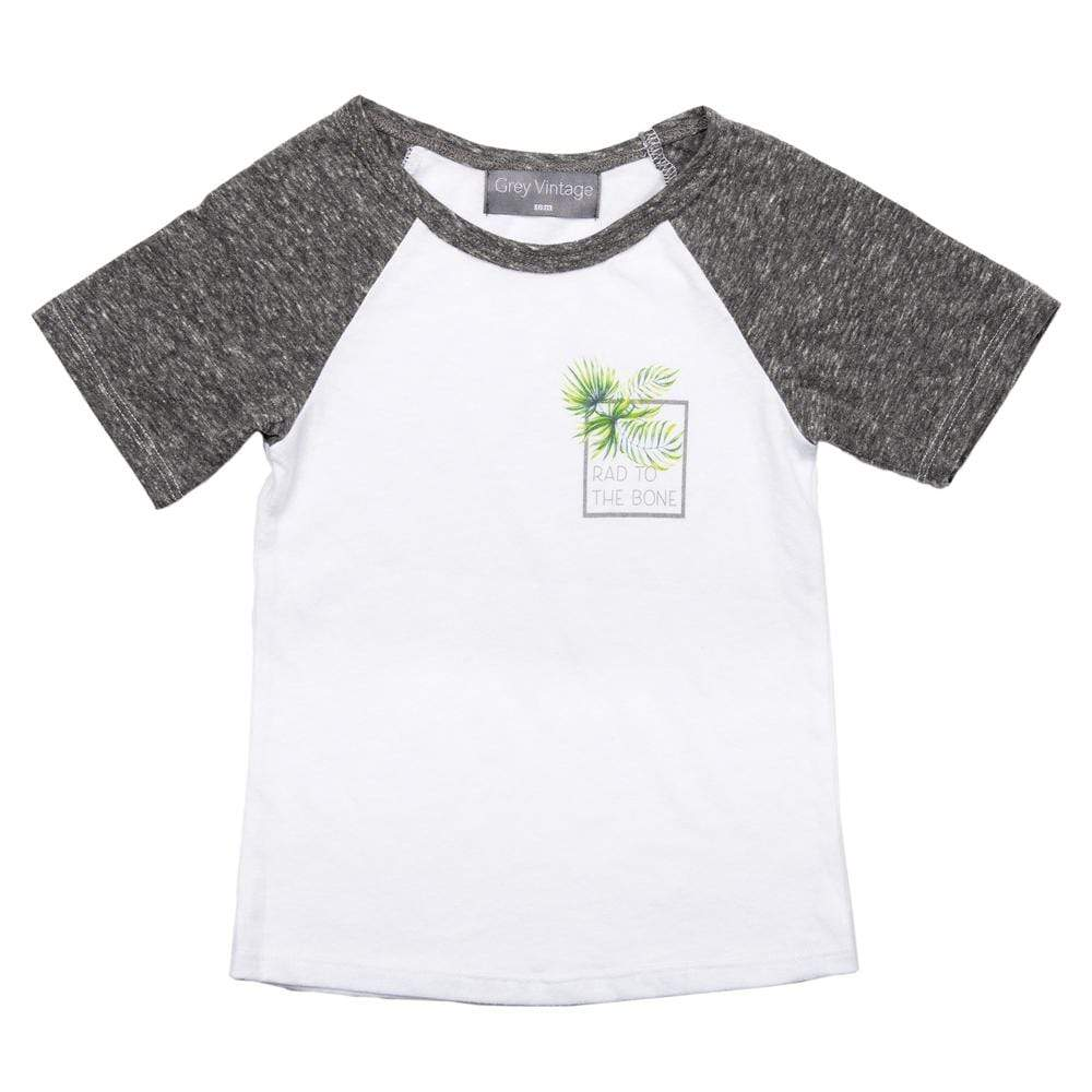Little Boys Sydney Tshirt Aqua Palm