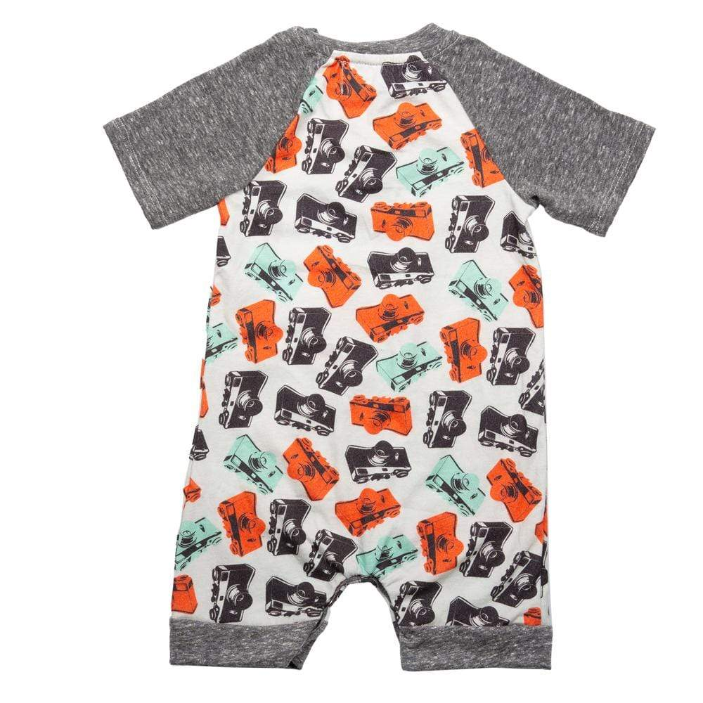 Teddy Romper Camera Shy